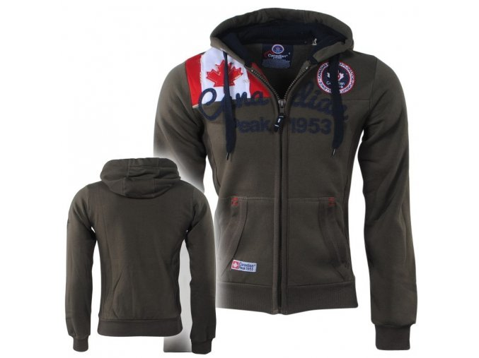 bv 2181 canadian peak trendy heren vest capuchon 1953 gailor khaki moda italia fashion 1