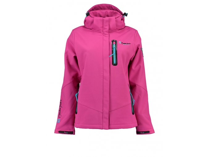 Frauen Canadian Peak Softshelljacke Tailcoat Lady in Pink LBLJZU
