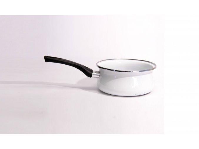 Emaille Stielkasserolle / Smalt hrnec na vaření 16 cm 1,5 l