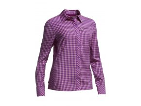 Icebreaker košile Terra LS Plaid dámská