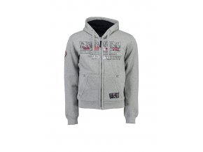 geographical norway sweatjacke gabouret in grau