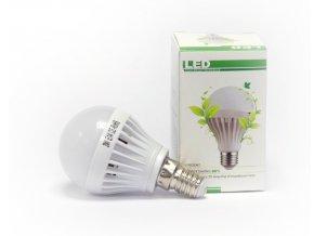 LED žárovka 3W 25W E14 Denní studená bílá