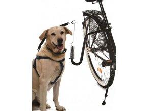 premium zwarte fietsbeugel voor de hond 36x36x2cm veilig fietsen met dieren hondentrainer fiets fiets springer voor honden 9200000081933368