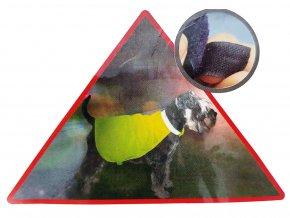 Reflexní bezpečnoství vesta pro psy