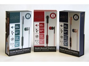 Pulsar Premium Metallic Bluetooth sluchátka