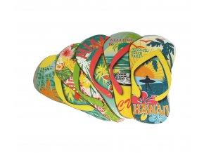 Nástěnná dřevěná dekorace - Flip Flop