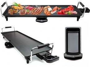 Cuisinier Deluxe Teppanyaki grill XL 1800 W / velký grill na domácí použití