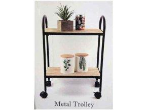 Home Accents Metal Trolley / Servírovacíí vozík / stolek