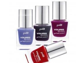 p2 Cosmetics / Volume Gloss gel look polish / lak na nehty