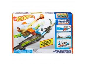 Hot Wheels Track Builder Rocket Launch Set | trasa pro angličáky