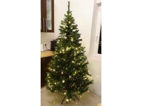 210 cm künstlicher Weihnachtsbaum 180er LED Beleuchtung Tannenbaum