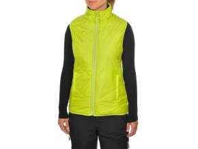 vokl team l thermo vest lime