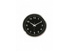 horloge alu 45cm noire m2