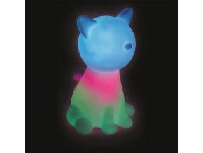 veilleuse chat multicolore (1)