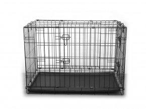 Klec pro psy skládací 76 x 49 x 55 cm