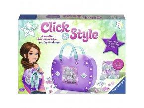 Kabelka Click & Style - Ravensburger - fialová