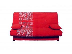 Potah na gauč typu clic clac 130x180cm - červený